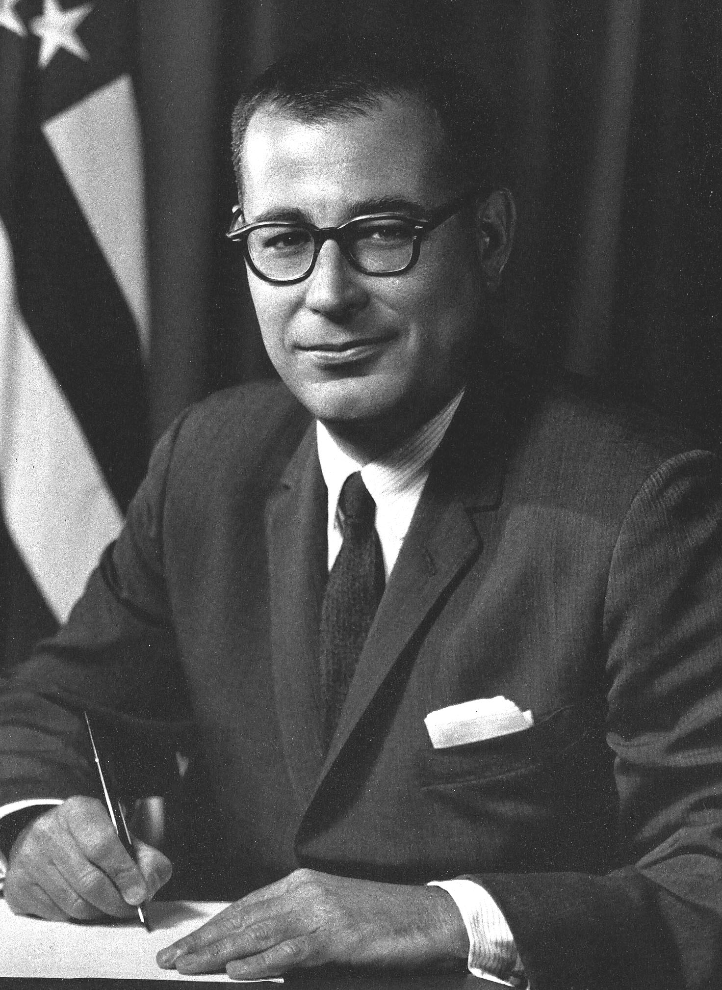 Secretary of Defense Harold Brown